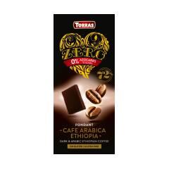 Czekolada gorzka 72% kakao z kawą bez dodatku cukru 100 g Torras