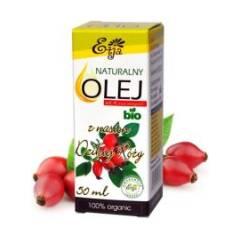Olej z nasion dzikiej róży naturalny BIO 50 ml Etja