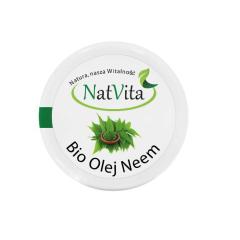 Olej NEEM zimnotłoczony BIO 100 g Natvita