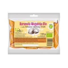 Karamela wegańska o smaku kokosowo-waniliowej krówki BIO 150 g Ekoflorka