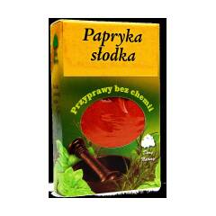 Papryka słodka mielona bezglutenowa 60 g Dary Natury