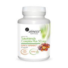 Tokotrienols Complex PLUS 50 mg EVNOL SUPRABIO 60 kapsułek Aliness