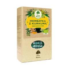 Herbata z kurkumą expresowa BIO 50 g Dary Natury