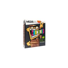 Płatki Crunchies żytnio-owsiane kakaowe BIO 250 g Milzu