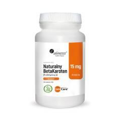 Naturalny BetaKaroten 15 mg  100 tab. Aliness
