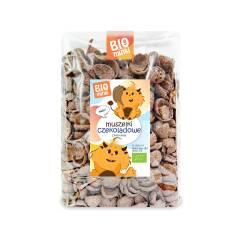 Muszelki Czekoladowe Bio 300g Biominki