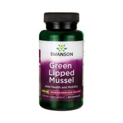 Nowozelandzka liofilizowana zielona małża 500 mg 60 kapsułek Swanson