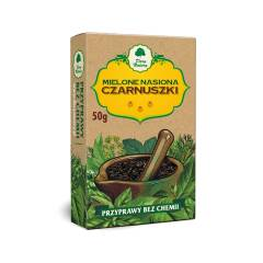 Mielone nasiona czarnuszki 50 g Dary Natury