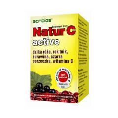 Natur C active 100 tabletek Sanbios