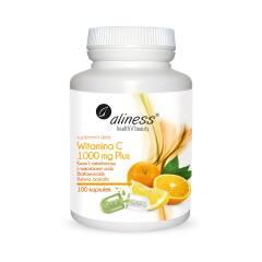 Witamina C 1000 mg Plus 100 kapsułek Aliness