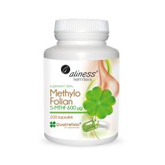 Methylo Folian 5-mthf 600 μg 100 kapsułek Aliness