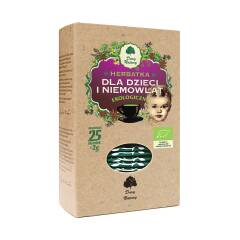 Herbata dla dzieci i niemowląt EKO 25 x 2 g Dary Natury