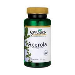 Acerola 500 mg 60 kapsułek SWANSON