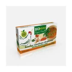 Kostka rosołowa drobiowa, bulion 66 g BioOaza