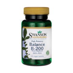 Balance B-200 100 kapsułek wegetariańskich SWANSON