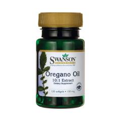 Oregano Oil Olej z Oregano ekstrakt 150 mg 120 kapsułek Swanson