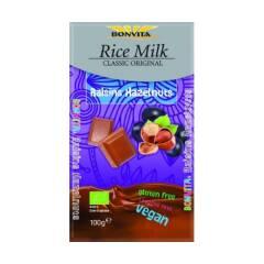 Czekolada z rodzynkami i orzechami (na napoju ryżowym) BIO 100 g BONVITA BG