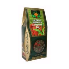 Herbata zielona z owocami goji 100 g NATUR-VIT