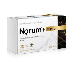 Narum+ Mumio 200 mg, 30 kapsułek Narum
