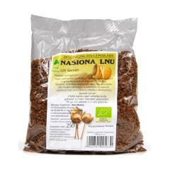 Siemię lniane brązowe nasiona lnu EKO 250 g Dary Natury