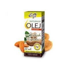 Olej ze słodkich migdałów naturalny 50 ml Etja