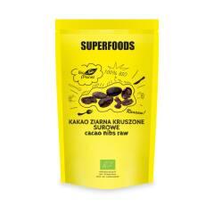 Surowe kruszone ziarna Kakao 200 g SUPERFOODS Bio Planet