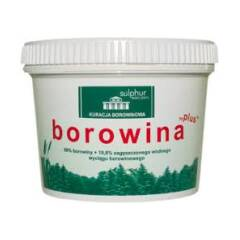 Borowina plus do kąpieli 1 kg Sulphur