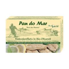 Makrela w BIO Oliwie z oliwek 120 g Pan do Mar