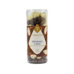 Migdały 3 mix w czekoladzie bezglutenowe 280 g Tercetto