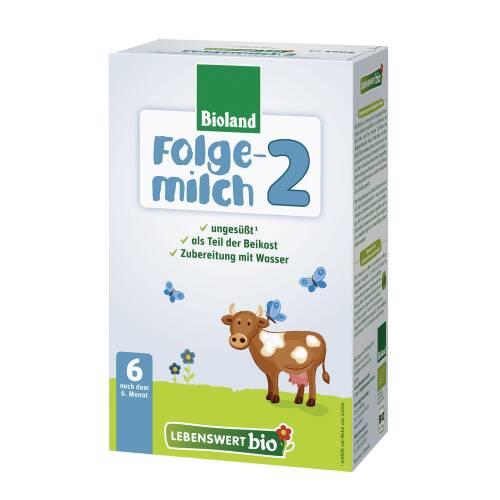 Mleko następne w proszku 2 (po 6 miesiącu) BIO 500 g Lebenswert