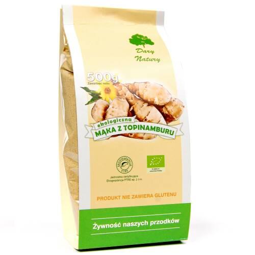 Mąka z topinamburu EKO 500 g Dary Natury