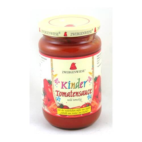 Sos pomidorowy dla dzieci BIO 350 g ZWERGENWIESE